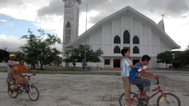 Ancaman Teroris Menyebar ke Timor Leste, Polisi Jaga Ketat Katedral Dili