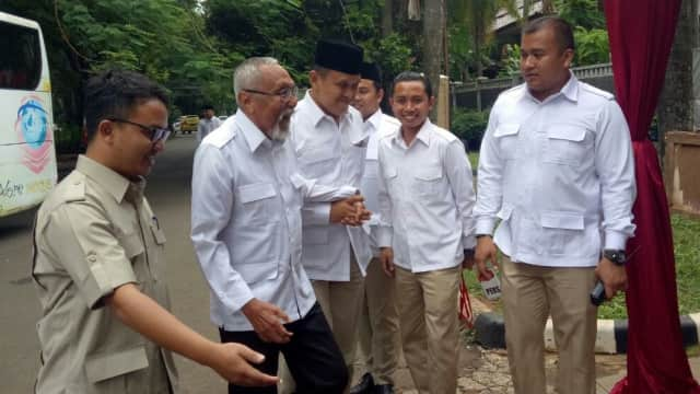 Ahmad Dhani hingga Permadi Hadiri Deklarasi Cagub Jateng Gerindra