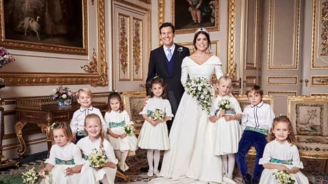 Putri Eugenie Tidak Lakukan Prosesi Lempar Bunga di Pernikahannya