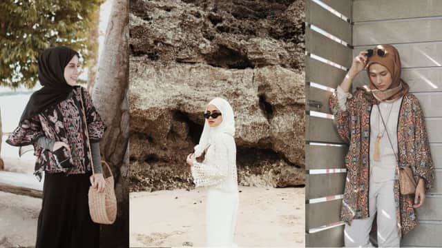 5 Inspirasi Fashion ala Selebgram Hijab untuk Tampil Stylish di Pantai