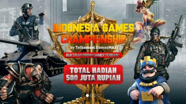 Grand Final Indonesia Games Championship Ramaikan Jakarta