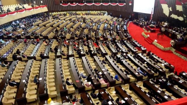Bangku Kosong saat Jokowi Bacakan Nota Keuangan di DPR Makin Banyak