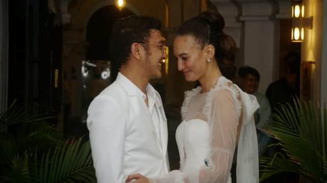 5 Fakta Pernikahan Dimas Anggara dan Nadine Chandrawinata