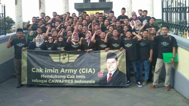 Deklarasi CIA Sasar Pemilih Pemula Jawa Timur