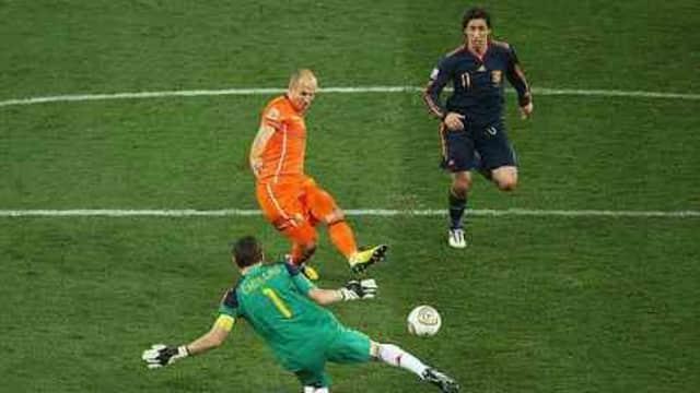 Arjen Robben dan Momen Emasnya di Piala Dunia 2010