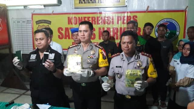 3 Pengedar Sabu Jaringan Malaysia Ditangkap di Medan