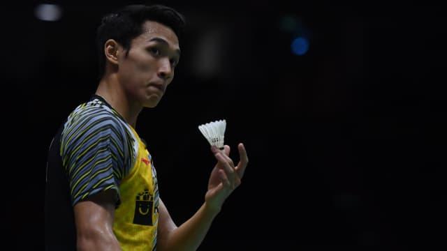 Piala Thomas: Jonatan Kalah, Indonesia Kembali Tertinggal dari China