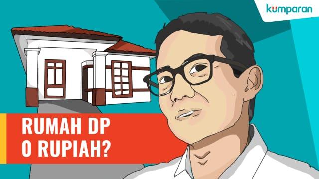 Sandi: Kemudahan DP Rumah Bantu Wujudkan 250 Ribu Hunian dalam 5 Tahun