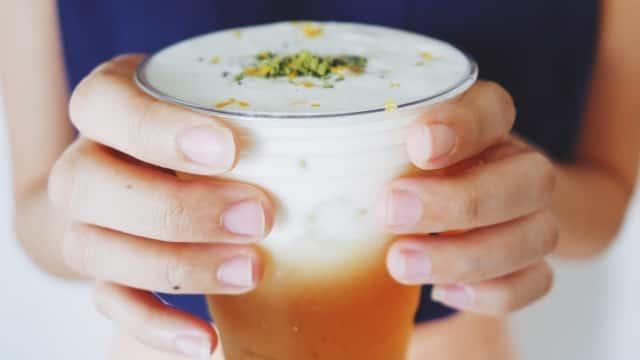 Resep Masakan: Minuman Cheese Tea Kekinian
