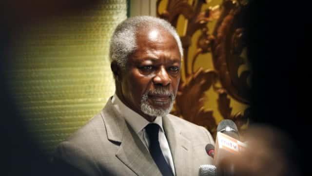 Kofi Annan, Mantan Sekjen PBB, Meninggal Dunia