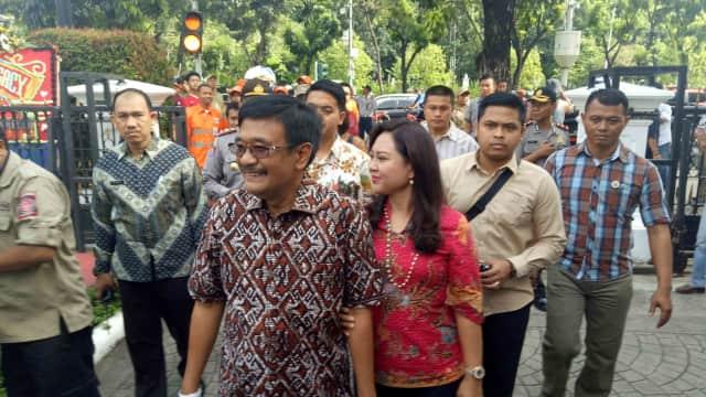 Sambutan Perpisahan Djarot Saiful Hidayat