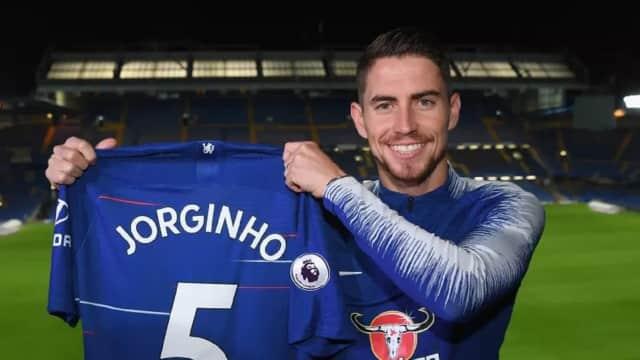 Resmi: Jorginho Menyusul Sarri ke Chelsea