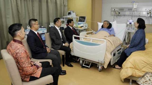 Prabowo Minta SBY Jaga Kesehatan: Bapak Bukan Komandan Batalyon Lagi