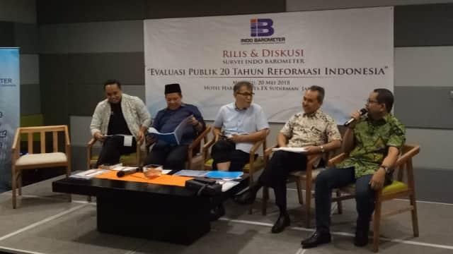Survei Indo Barometer: Soeharto Presiden Paling Berhasil