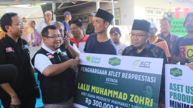 Apresiasi Untuk Sang Juara Dunia, Lalu Muhammad Zohri