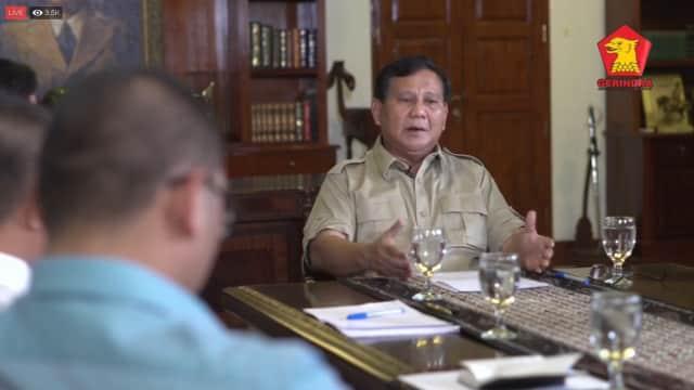 Alasan Prabowo Enggan Nonton Piala Dunia: Tak Ada Timnas Indonesia