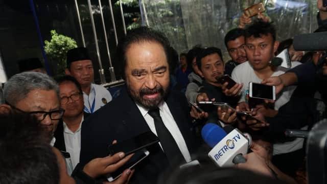 NasDem Anggap Opsi Jokowi-Prabowo di Survei LIPI Sulit Terealisasi