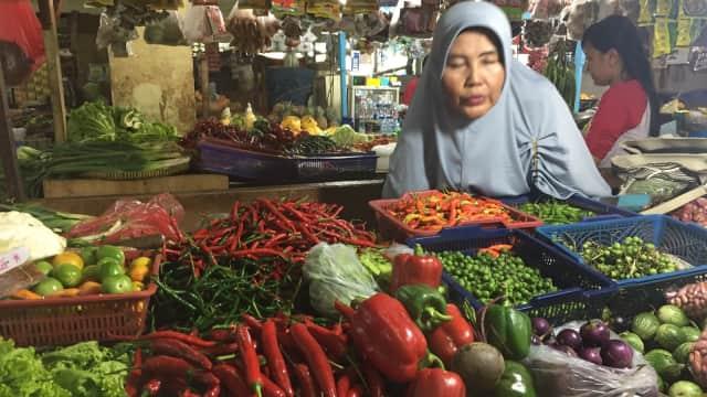 Minggu Kedua Ramadhan, Harga Cabai dan Bawang Putih Berangsur Turun