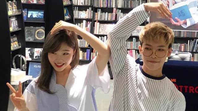 Su-hyun Akdong Musician berbagi Foto Bersama Chan-hyuk Saat Wamil