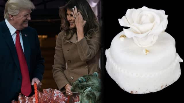 Dilelang Ratusan Juta, Kue Pernikahan Donald Trump Ditawar Rp 8 Juta