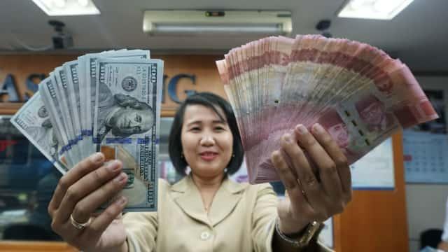 Pemerintah dan DPR Sepakat Kurs 2019 di Level Rp 14.500 per Dolar AS