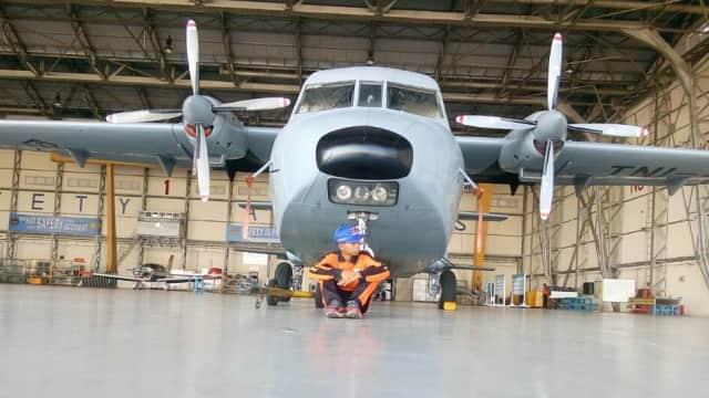 Pesawat Cassa 212 TNI AU Tergelincir di Bandara Husein Sastranegara
