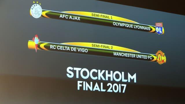 Semifinal Liga Europa: Ajax vs Lyon, Celta Vigo vs Man. United