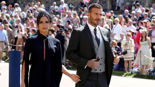 David & Victoria Beckham Donasikan Baju yang Dipakai di Royal Wedding