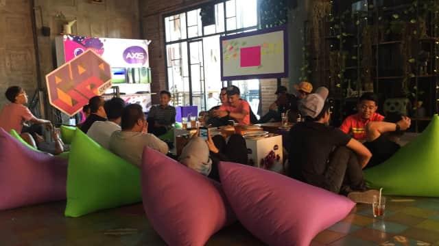 AXIS Pop Up Station Wadahi Anak Muda Makassar Untuk Berkolaborasi