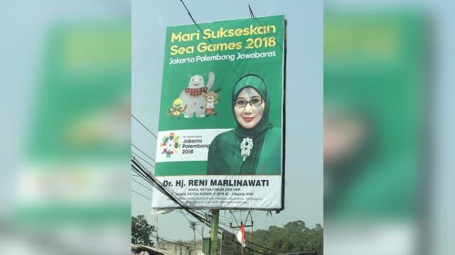 Penjelasan Politikus PPP Reni Marlinawati soal Baliho 'Sea Games 2018'