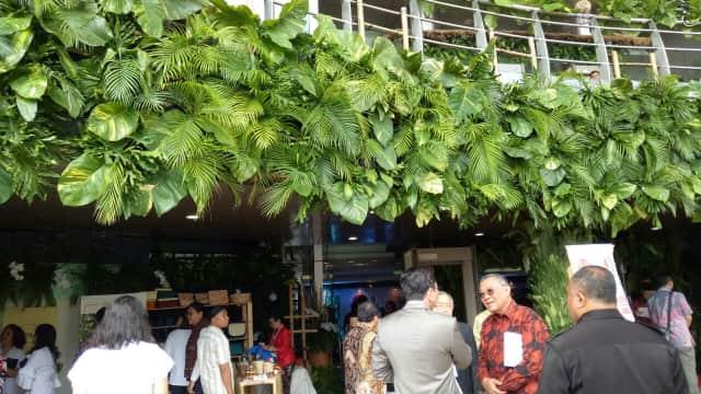 Suasana Perayaan HUT Megawati yang Bertema Lingkungan