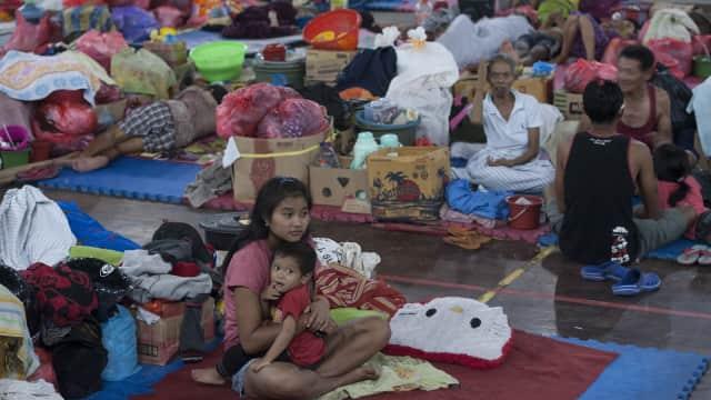 Pengungsi Gunung Agung yang Ingin Pulang Terkendala Akses Jalan