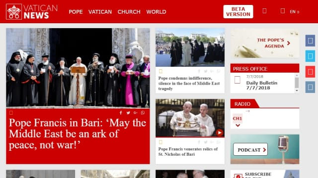 Kominfo Minta Maaf dan Akui Salah Blokir Situs Vatican News
