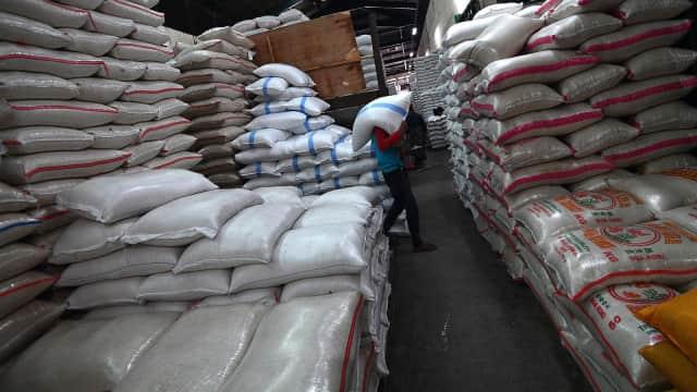 Suplai Beras Pasar Induk Cipinang Meningkat dari 1.000 jadi 5.000 ton
