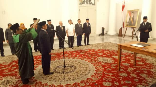 Anies Lantik Dzikran Kurniawan Jadi Kepala UPT Rumah DP Rp 0