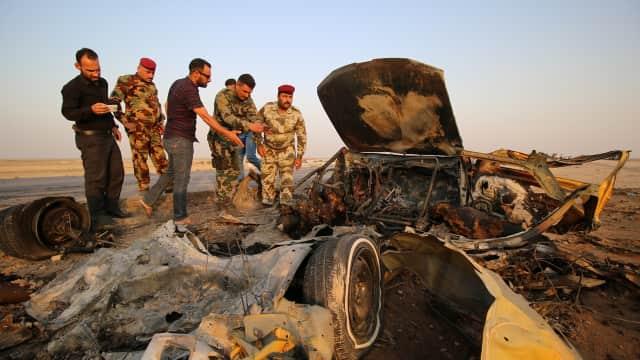 60 Orang Tewas karena Bom Bunuh Diri di Iraq