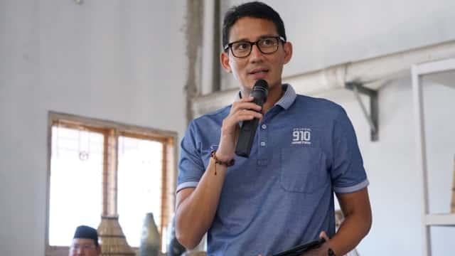 Sandi: Semua Berharap Dikunjungi Prabowo, Kami Bagi Tugas Kampanye