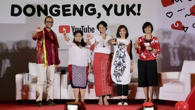 Dongeng dan Cerita Rakyat di YouTube