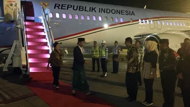 Warga Sumatera Utara Antusias Sambut Kedatangan Jokowi