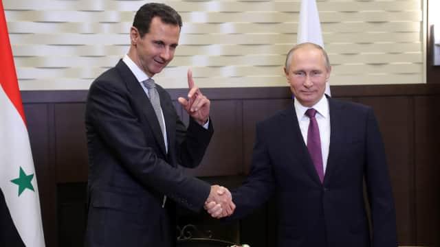 Janji Setia kepada Rezim Suriah, dari Iran, China, hingga Rusia