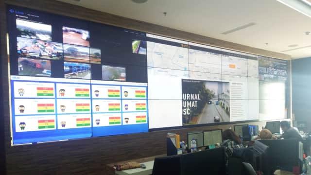 Pemprov DKI Pantau Banjir Lewat Jakarta Smart City Hingga 16 Februari