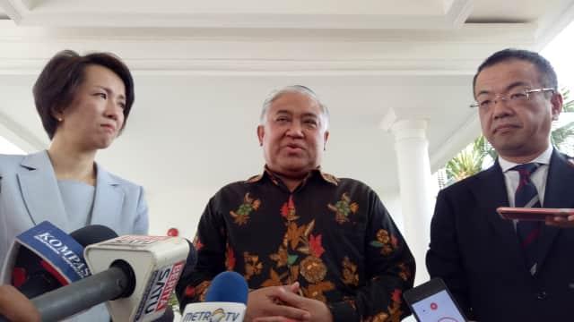 JK Bahas Krisis di Myanmar dengan Perwakilan Buddha Jepang