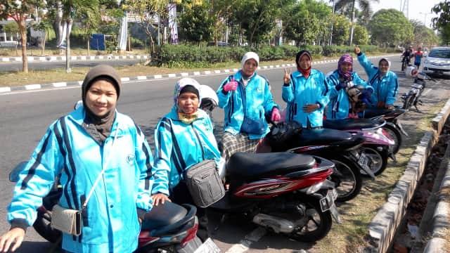 Ojek Muslimah Ojesy Punya 600 Driver Berhijab di 25 Kota Indonesia