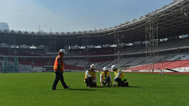 Seluruh Venue Asian Games 2018 di Senayan Ditarget Rampung Akhir Tahun