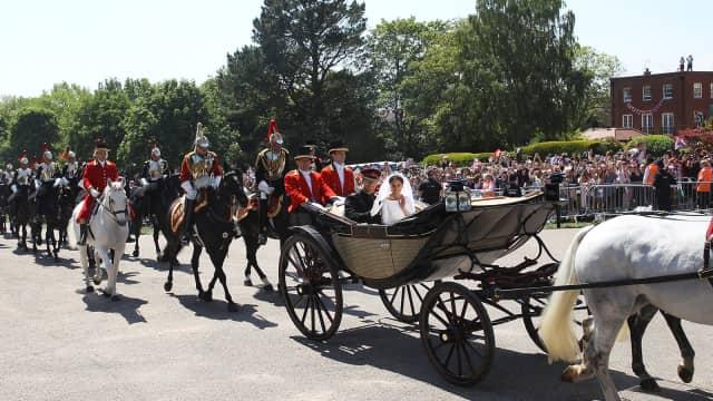 Mengulik Kereta Kuda Royal Wedding Pangeran Harry & Meghan Markle