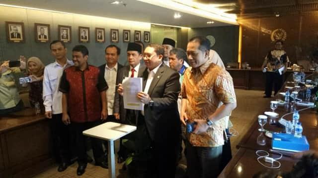 Fadli Zon Mulai Kumpulkan Tanda Tangan untuk Bentuk Pansus TKA