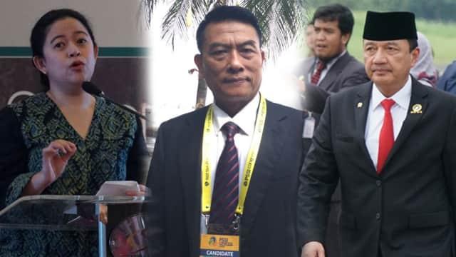 Kandidat Cawapres Jokowi: Puan, BG hingga Moeldoko