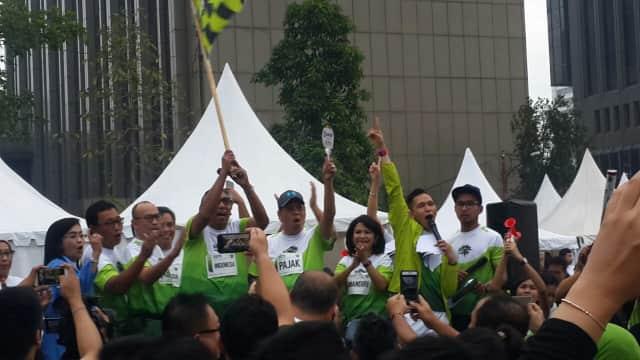 Ditjen Pajak Kampanyekan Lapor SPT di Acara Car Free Day