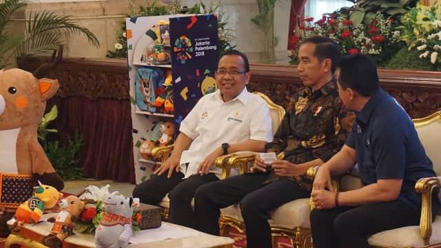 Susy Susanti hingga Marcel Hadiri Acara Promosi Asian Games di Istana