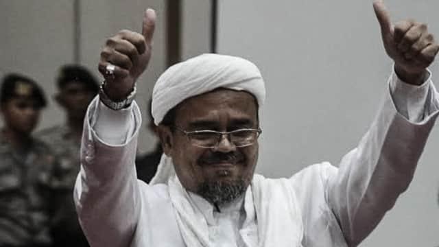 Rizieq Syihab Minta Laskar Siber Jihad Medsos Menangkan Prabowo-Sandi